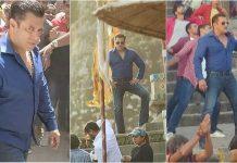 Salman Khan, Dabangg shoot photo leak