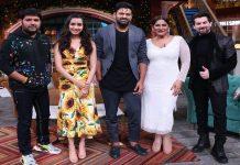 Sahoo film, The Kapil Sharma show